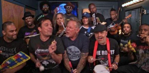 [VIDEO] @Metallica como nunca antes visto:...