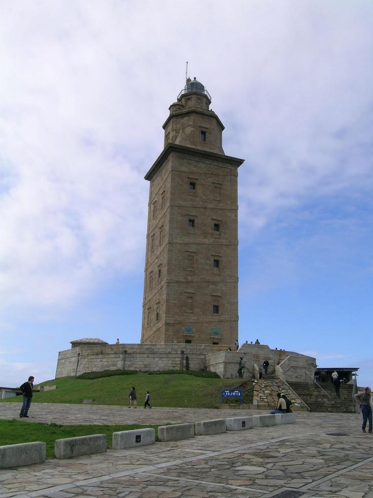 Torre de Hércules - A Coruña - Galicia, Spain