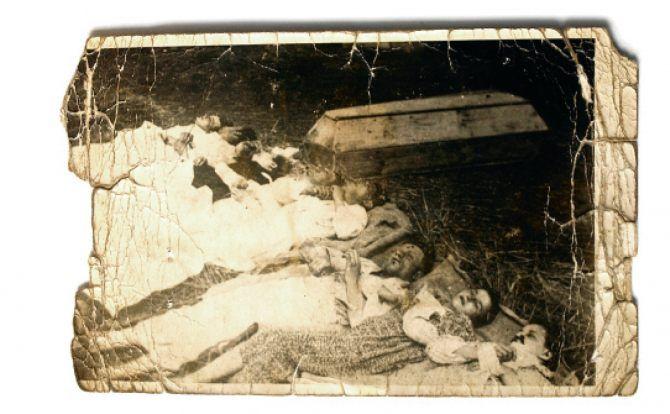Rodzina Rudnickich zamordowana przez nacjonalistów ukraińskich, okolice Włodzimierza Wołyńskiego, 1943-1944 r.