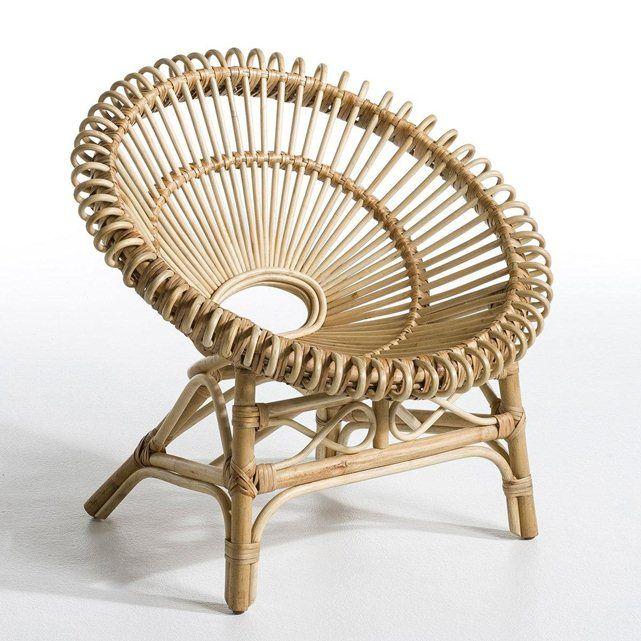Fauteuil en rotin roulis am pm int elsbth pinterest - La redoute fauteuil rotin ...