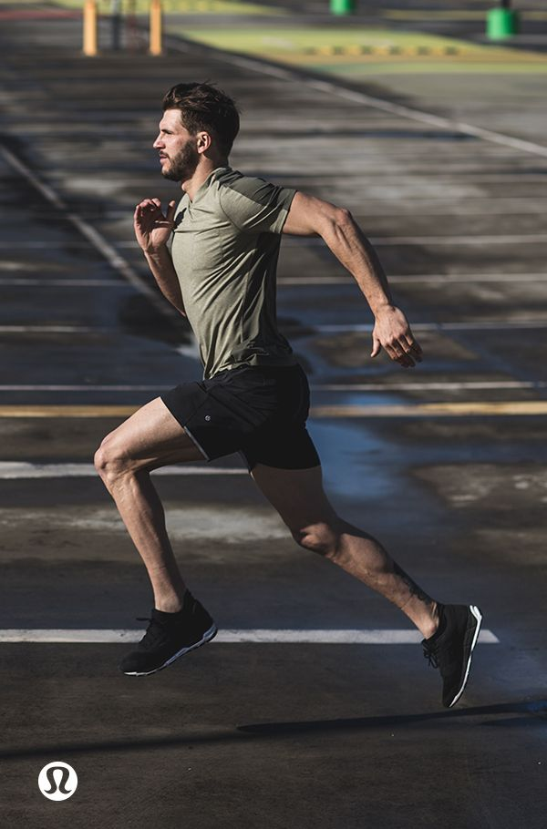 Pound the pavement. Run hard, run strong.