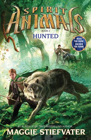 Hunted (Spirit Animals #2) by Maggie Stiefvater -- Published 7th Jan 2014.  Expected delivery 10th Feb 2014.  Arrived.