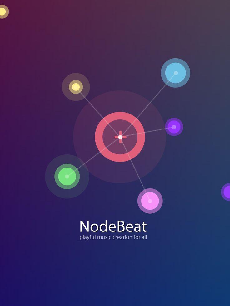 NodeBeat est une application mobile créé par Seth Sandler & Justin Windle. Nodebeat est une application de création musicale et visuelle pour tous les ages et tous les niveaux.
