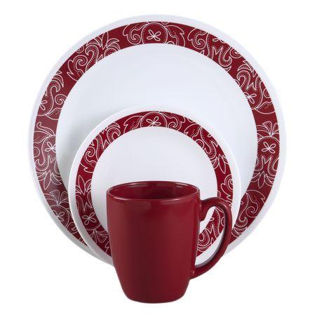 DescriptionCorelle Livingware™... The original break and chip resistant glass dinnerwar.  sc 1 st  Pinterest & 10 best Dinnerware images on Pinterest | Dinnerware sets Dish sets ...