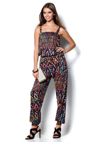 Overal s potiskem #ModinoCZ #coveralls #fashion #overal #moda #damskamoda #trend #style #original