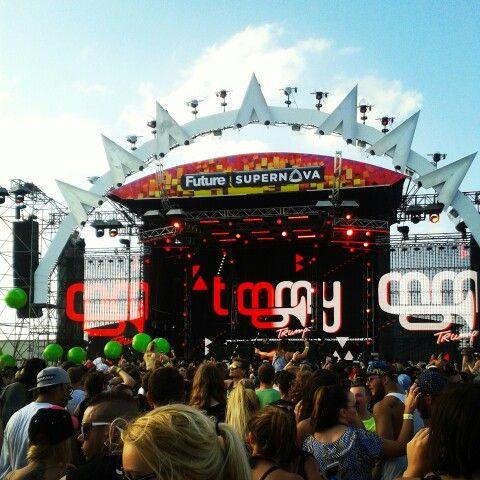 Future music festival!!! @brisbane