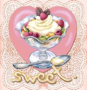 """Sweet Ice Cream Sundae"" 