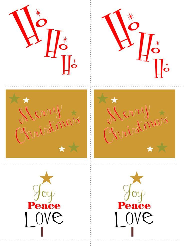 Christmas Gift Tags, christmas tags, Free Printables|No comments|{Free Printables} - Christmas Gift Tags ...byHeather de BruinWednesday, December 10, 2014{Free Printables} - Christmas Gift Tags ...