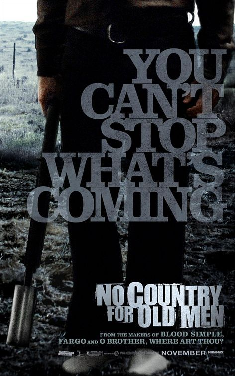 No Country For Old Men (2007) - Number 78 on the list. Again, I'm looking forward to this one.