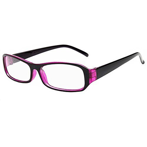 FancyG® Vintage Inspired Classic Rectangle Glasses Frame ... .amazon.com(will  wear with purple tinted prescription glassses)
