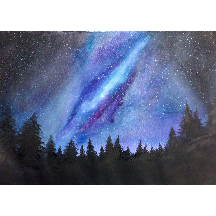 #Painting #Night #Sky #Space