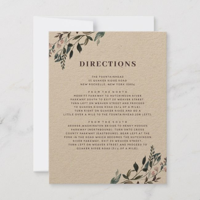 Create Your Own Response Card Zazzle Com Wedding Directions Rsvp Card Wedding Direction Cards