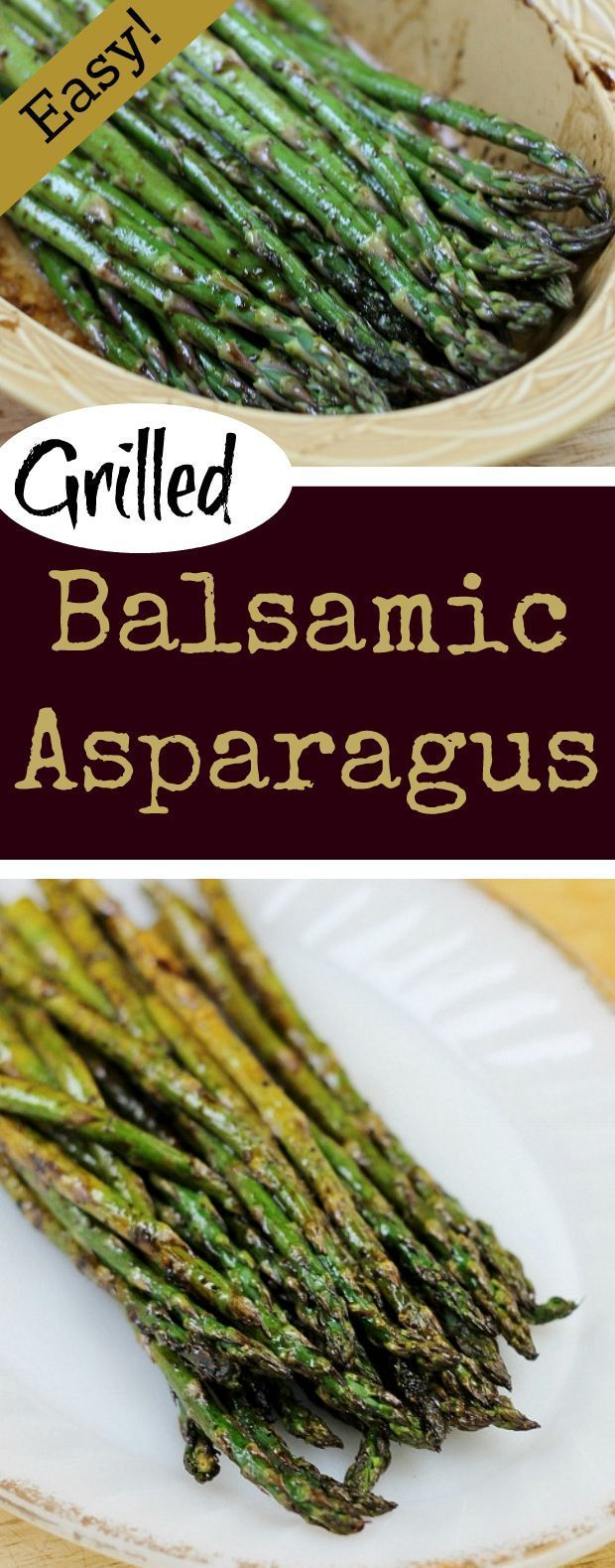 Grilled Balsamic Asparagus an easy recipe, that will turn asparagus haters into lovers.