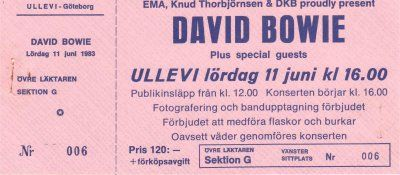 1983,not my ticket..  But I was there!