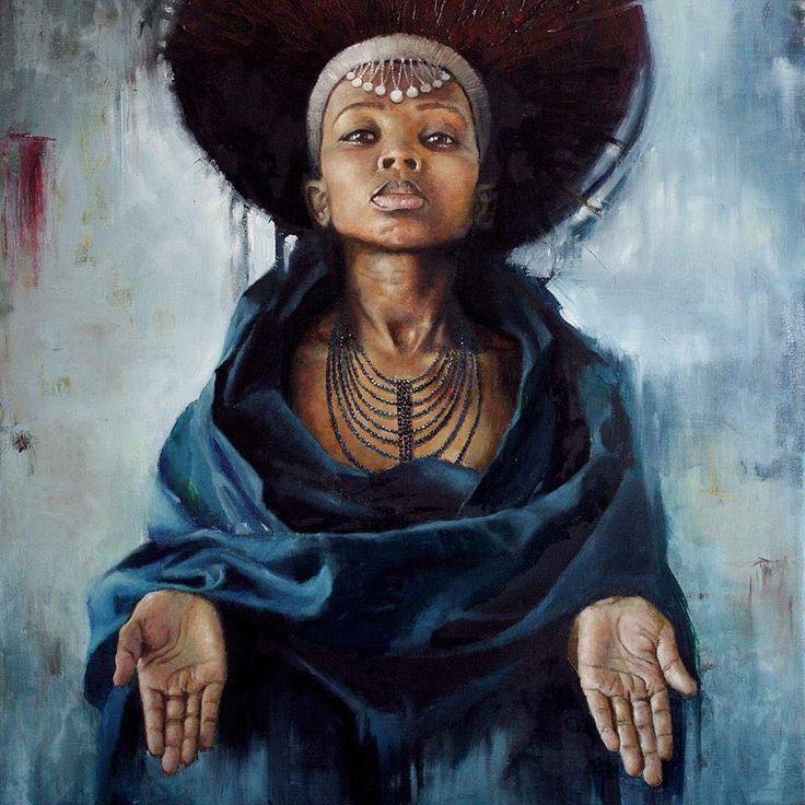 Inyanga neenkwenkwezi by @loyisomkize #KISUAInspired #ART by kisuaonline