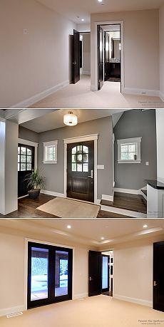 Темные двери в светлом интерьере - Мой дом