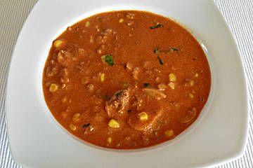 Thüringer Mett  - Suppe