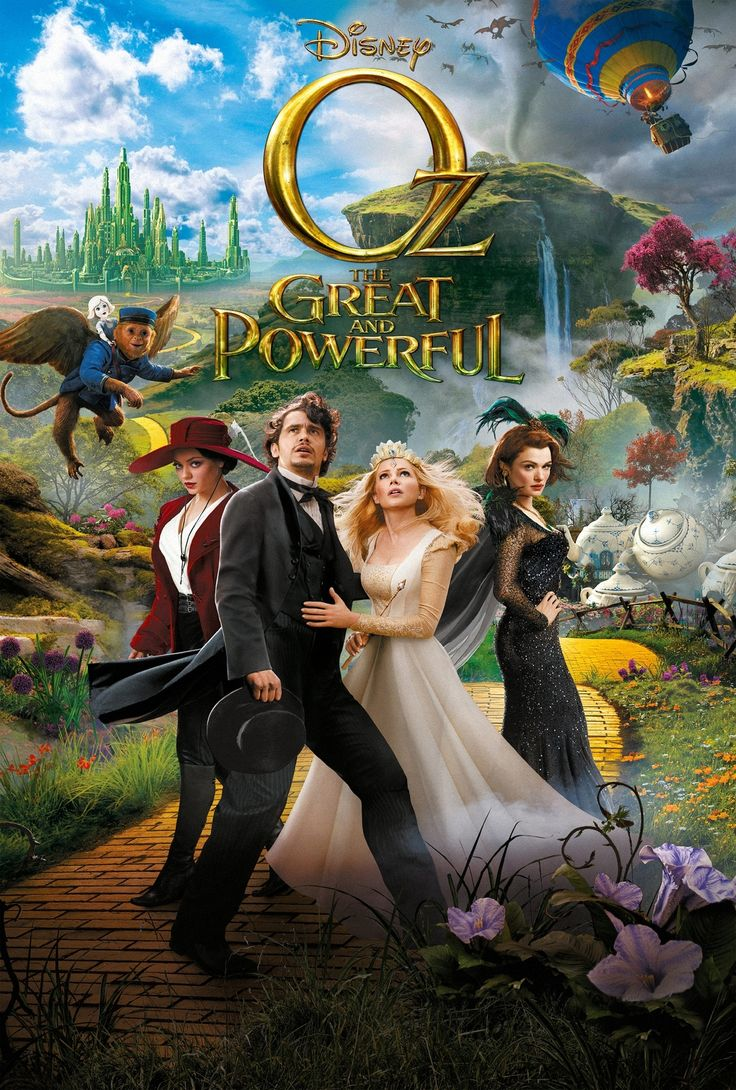Oz The Great and Powerful UV Poster v010 Key Art 27 X 40
