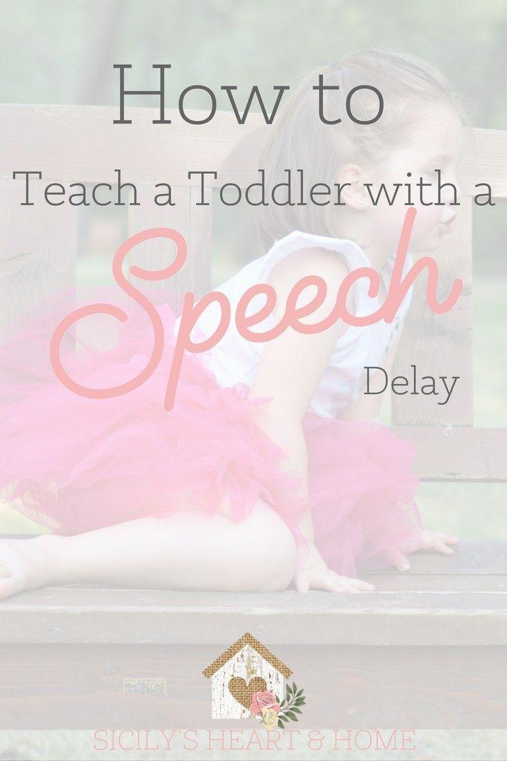 toddler speech delay | non-verbal toddler | teaching toddlers