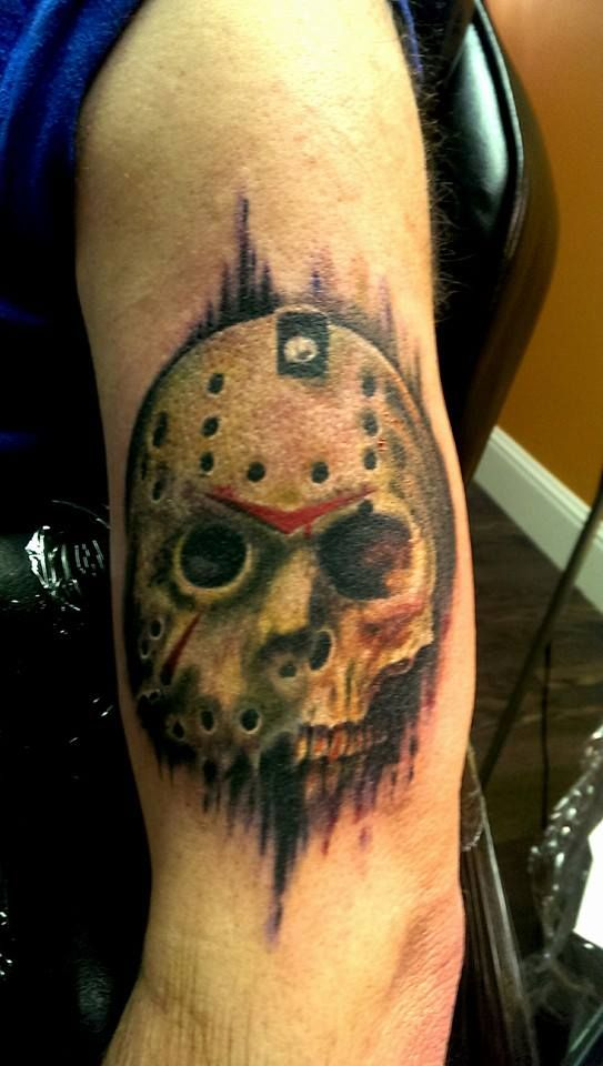 Got this last weekend. By Adam Mitchell. Copy of Friday 13th artwork.