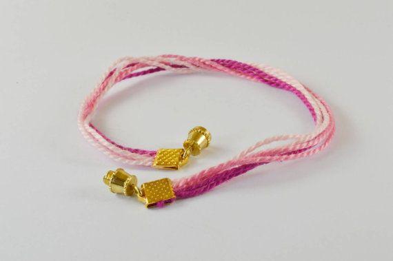 $8 pink ombre Bracelet