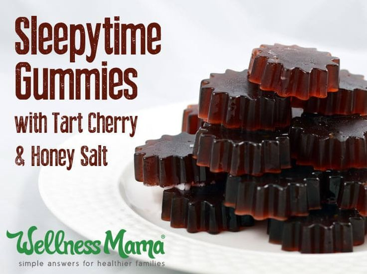 Tart Cherry Sleep Gummies