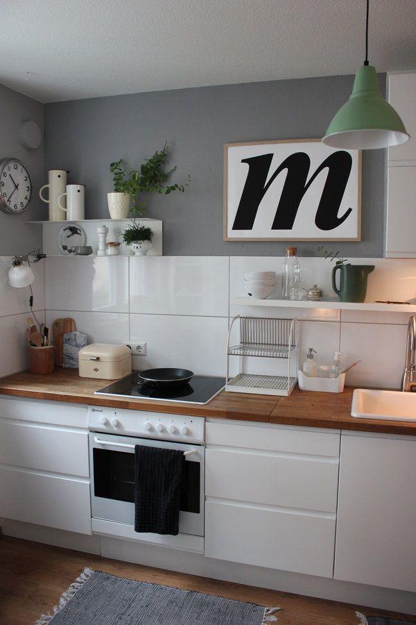 Die besten 25+ Küche weiß grau Ideen auf Pinterest Graue küche - sonne scheint gelben kuche