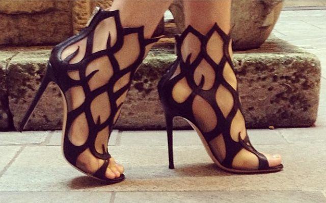 Des chaussures Maléfiques signées Gianvito Rossi