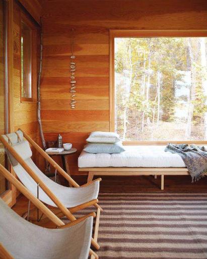 ontario lake cottage via house & home