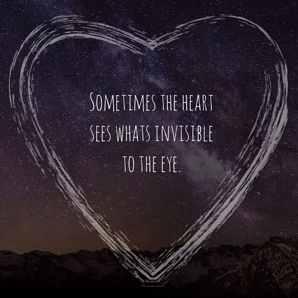 Sometimes you just have to follow your heart.