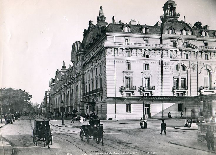 1000 images about old paris on pinterest bastille for Quai d orsay metro