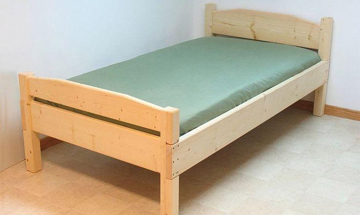 Как сделать односпальную кровать своими руками