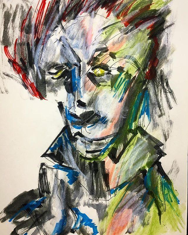 adaichiz今日の一枚【頭皮】  #絵 #芸術 #アート #アートワーク #イラスト #らくがき #スケッチ #モレスキン #アーティスト #絵師 #妄想 #大智 #art #artwork #illustration #artistic #artist #drawing #sketch #painting #creative #character #moleskine #Daichi2017/11/03 21:36:54