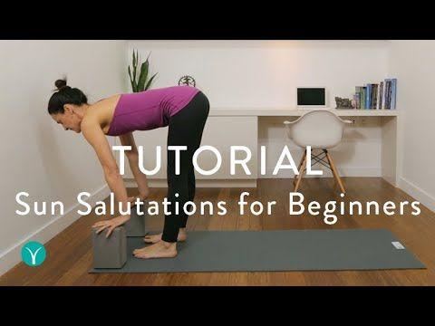 sun salutations for beginners broken down stepstep