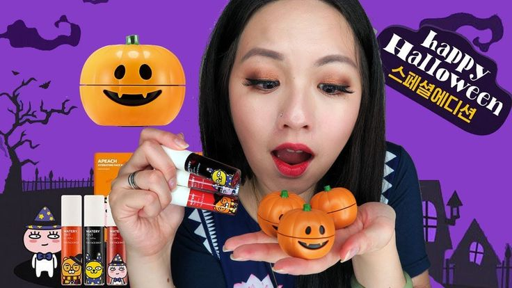 [THE FACE SHOP] X KAKAO FRIENDS HALLOWEEN EDITION WATERY TINT  & PUMPKIN...