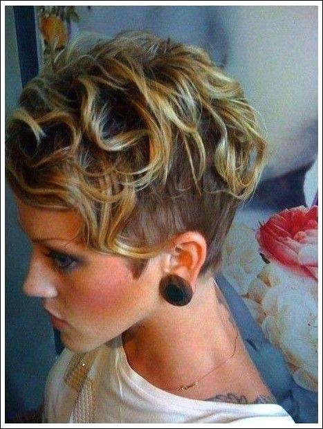 Kuhle Weiche Wellige Lockige Frisur Fur Kurzes Haar Beliebte