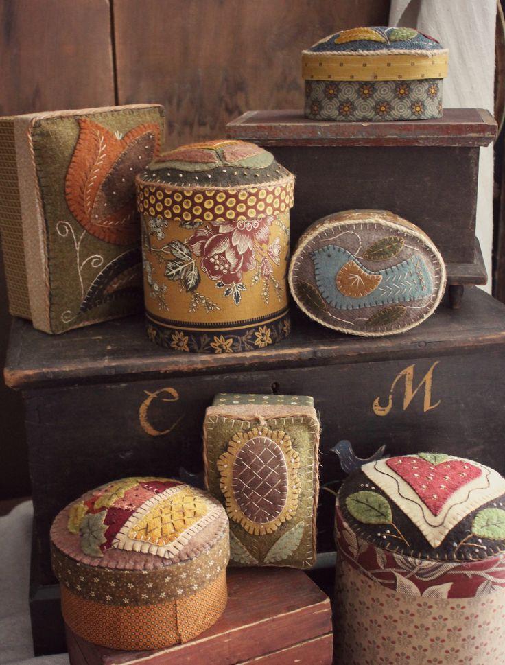Wooly Boxes by Rebekah L. Smith www.rebekahlsmith.com
