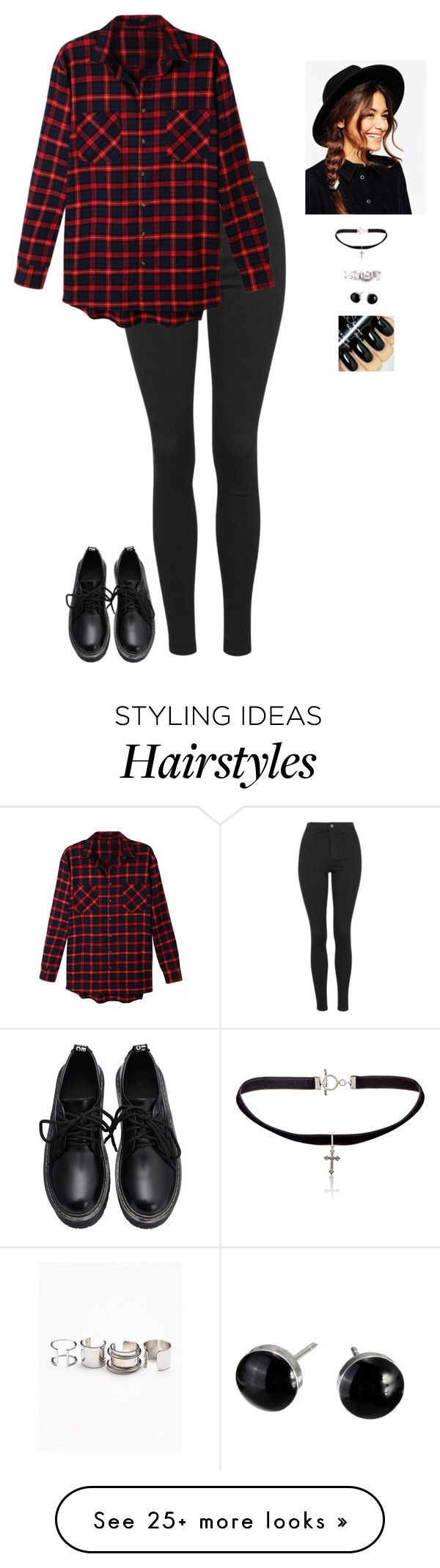 """""""Feminine Style With A Masculine Twist"""" by hanakdudley on Polyvore featuring Topshop, LE3NO, ASOS, Yves Saint Laurent, Free People, women's clothing, women, female, woman and misses"""