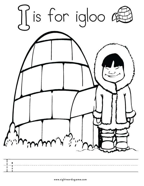 19 best Pre- Letter I images on Pinterest Preschool activities - new dltk coloring pages alphabet