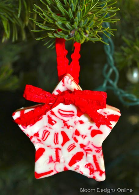 bloom designs: Candy Cane Crafts. ☀CQ #christmas #sweets #desserts