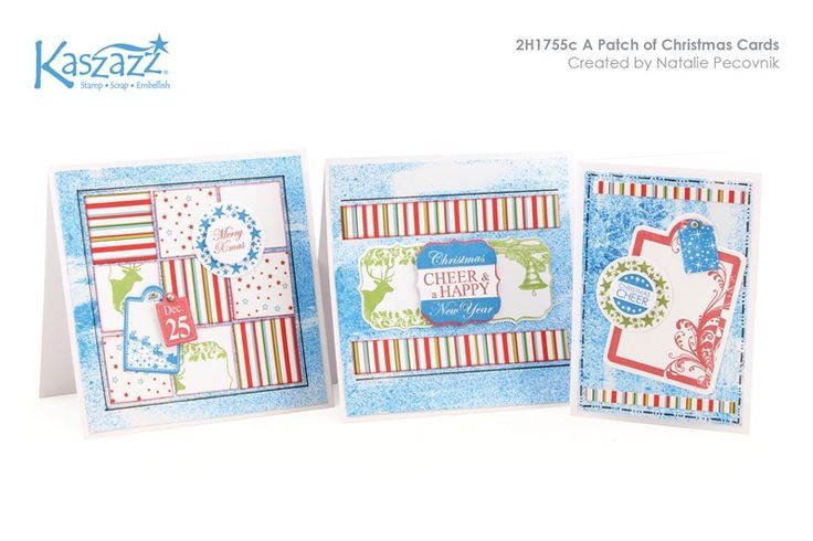 2H1755c A Patch of Christmas Cards