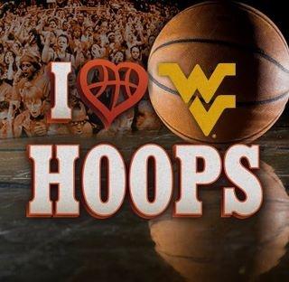 Love my West Virginia University Mountaineer!! Basketball season baby! ☝