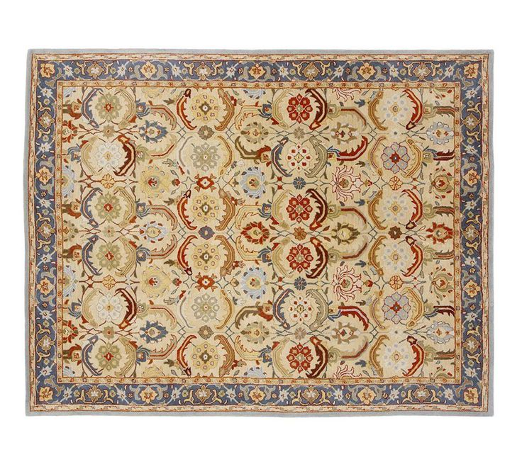 Eva Persian-Style Rug; in 8' round for library