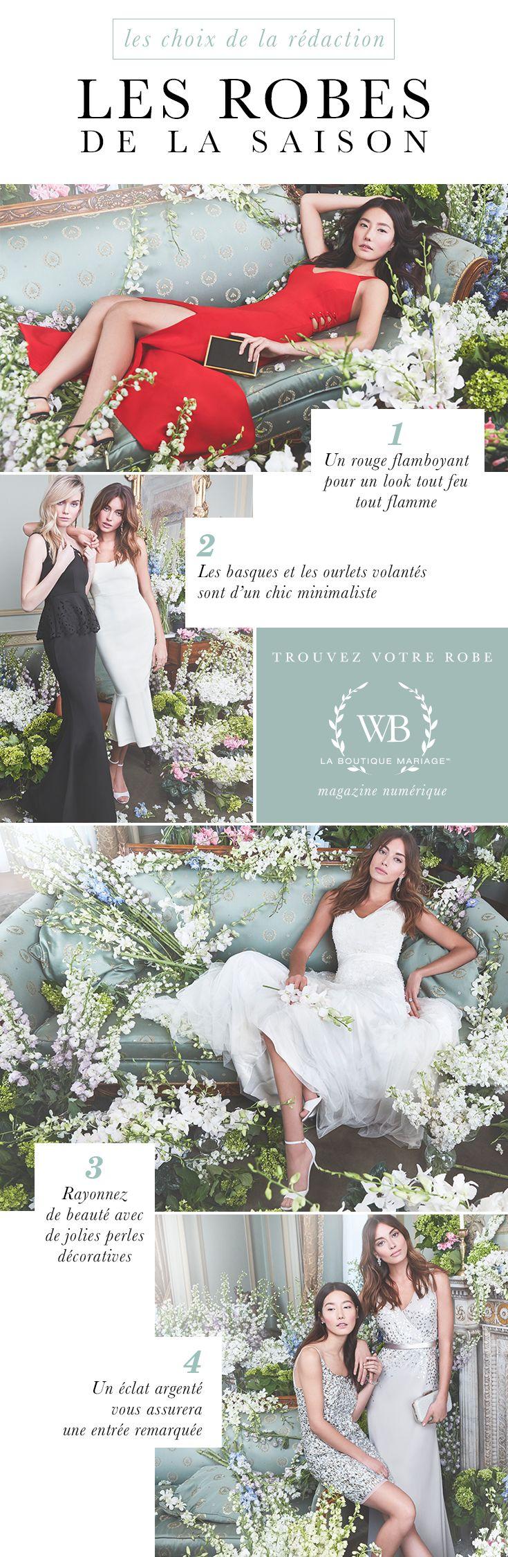 Les plus belles robes de la saison | The Wedding Boutique Magazine par LE CHÂTE …