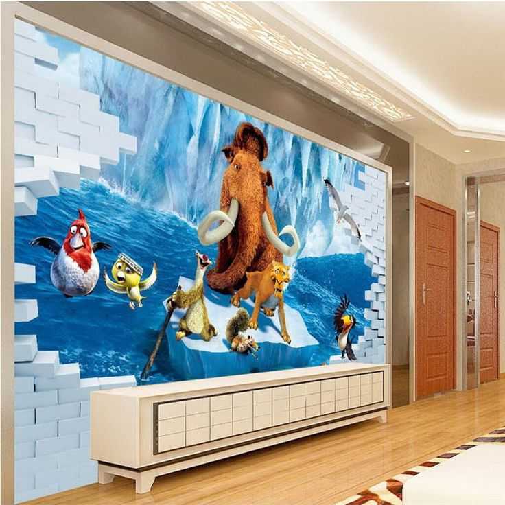 beibehang Custom Wallpapers Hollywood Movie Themes Animal Stories Seagulls Home Decor 3D Wallpaper Background papel de pared #Affiliate