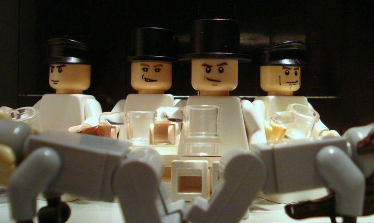 Clockwork Orange via legos!