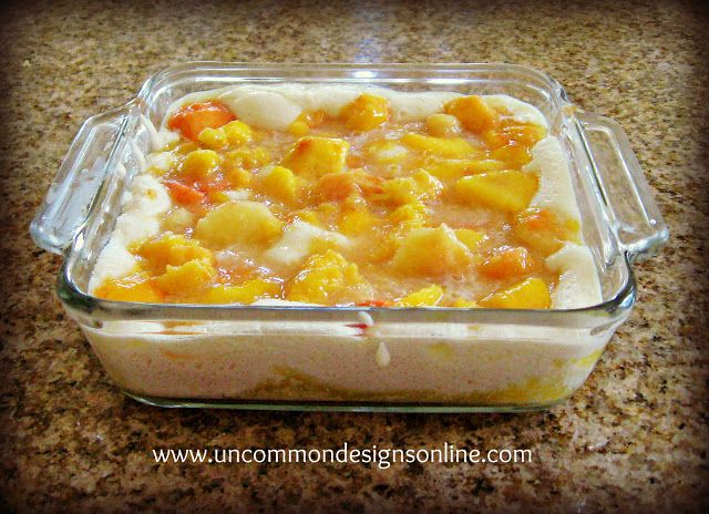 The Best {and easiest} Peach Cobbler Recipe Ever... - Uncommon Designs...