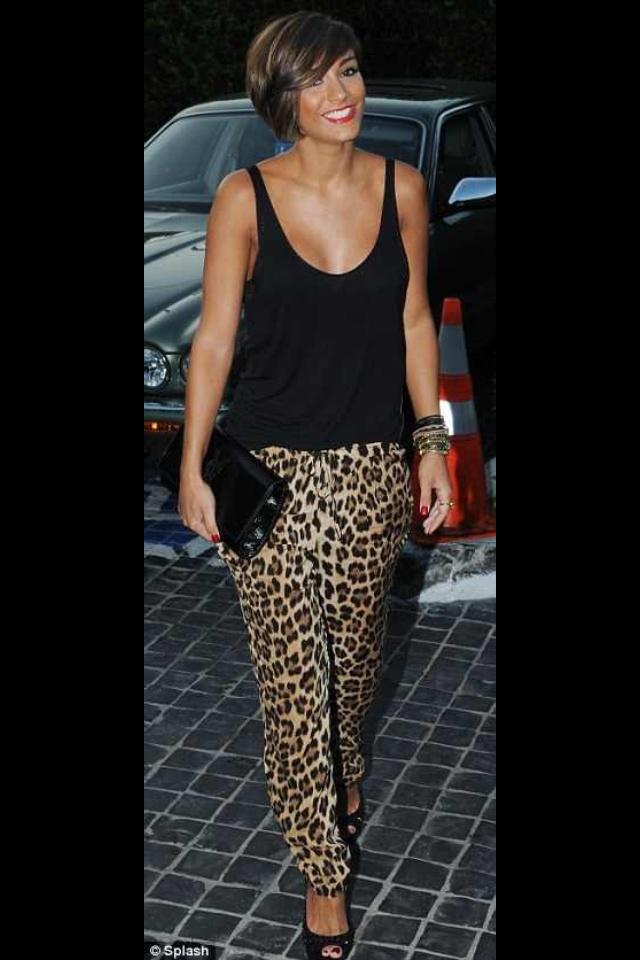 Leopard pants..  I love frAnkies style!