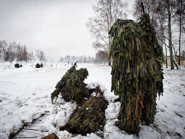 Indian Army Snipers training in Russia during bilateral ...