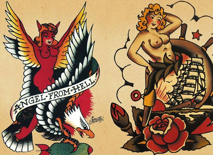 16 best Sailor Jerry images on Pinterest | Traditional tattoos, Ink ...